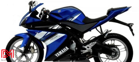 Kit Deco Yamaha R125 Blue