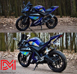 Kit Déco Yamaha R125 Movistar
