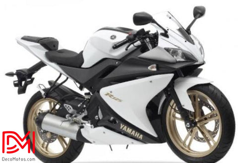 Kit Deco Yamaha R125 White