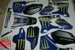 Kit Déco Yamaha Wr 250-450 2003-2006 Blue Monster
