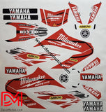 Kit Déco Yamaha Wrx 125 Milwaukee