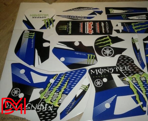 Kit Déco Yamaha Yz 125-250 1991-1992 Monster