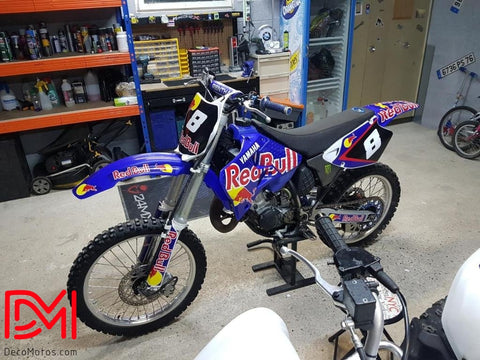 Kit Déco Yamaha Yz 125-250 1996-2001 Red Bull