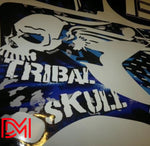 Kit Déco Yamaha Yzf 250-450 2003-2005 Tribal Skull
