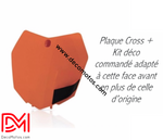 Plaque Avant Ktm Sx Sxf 2013-2015 Orange / Oui