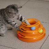 FREE Tower of Tracks Ball and Track Interactive Toy for Cats