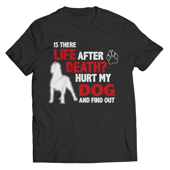 Life After Death Hurt My Dog And Find Out