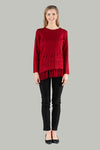Kelsey Knit Jumper - Red