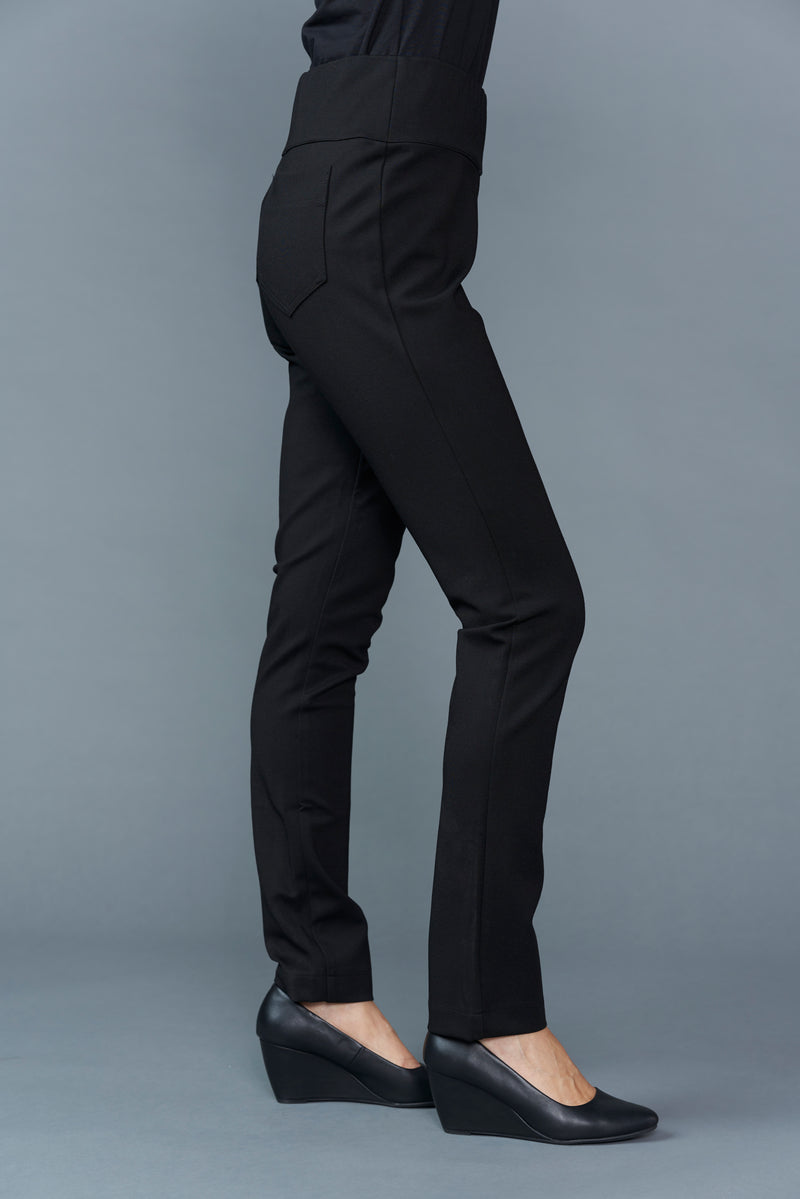 Cora Full Length Pull on Ponte Pant