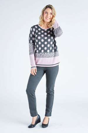Millie Spot Knit Jumper