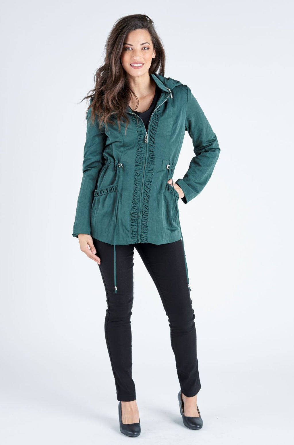 Holly Hooded Jacket - Forrest
