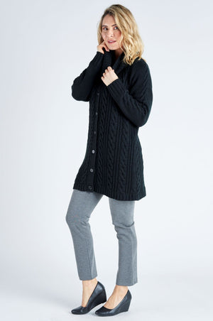 Gabriella Tunic Knit - Black
