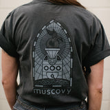 Muscovy Stained glass shirt