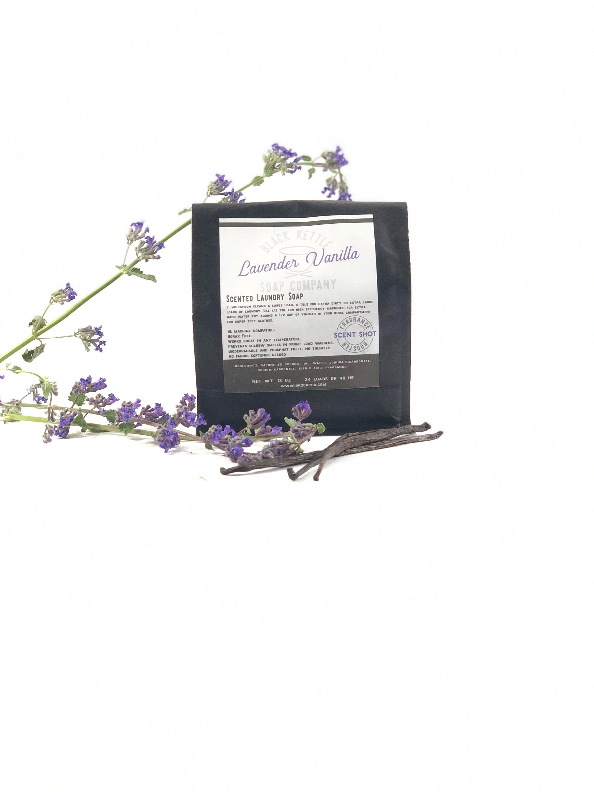 Natural Lavender Vanilla Laundry Soap