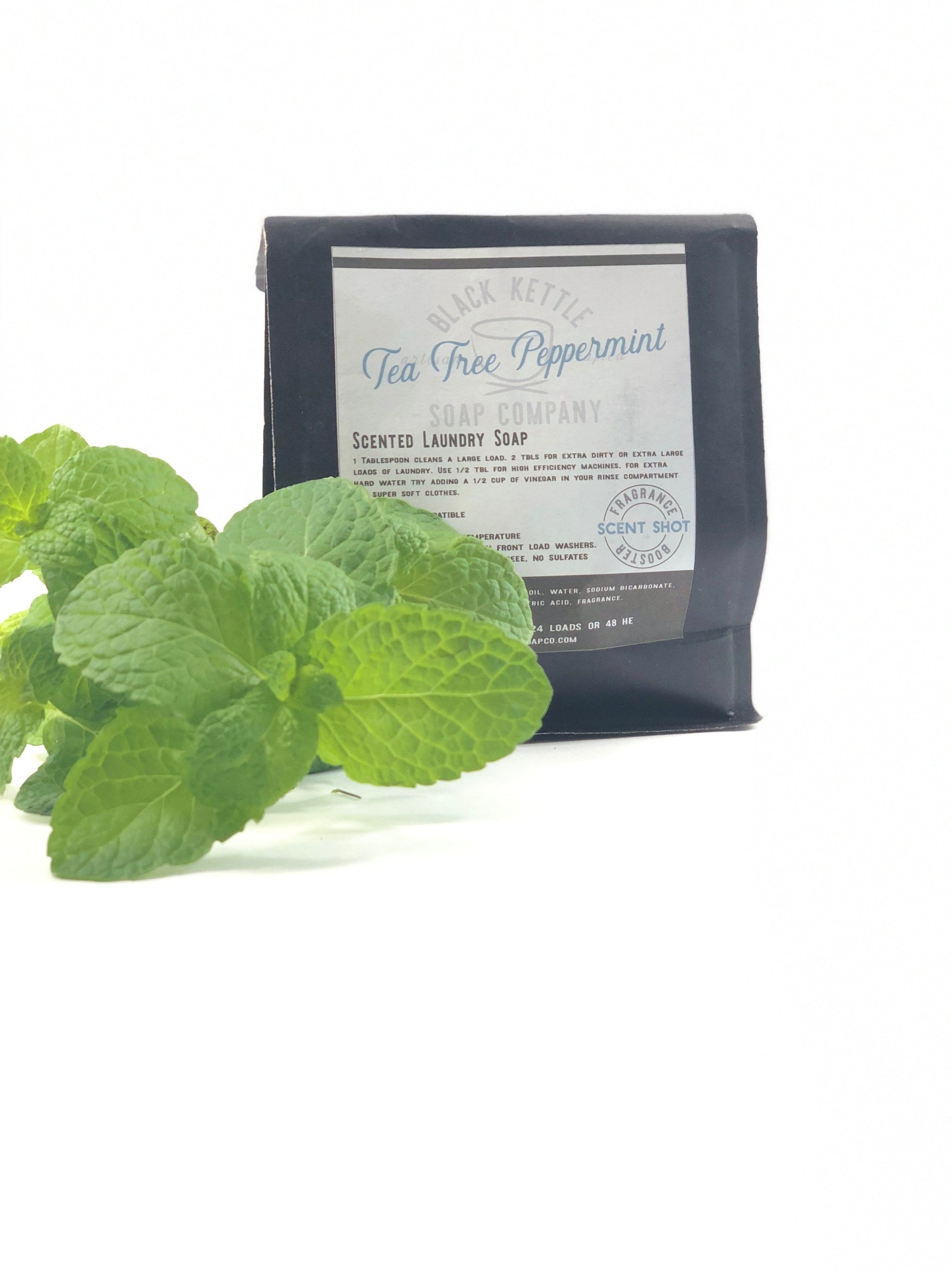 Natural Tea Tree Peppermint Laundry Soap