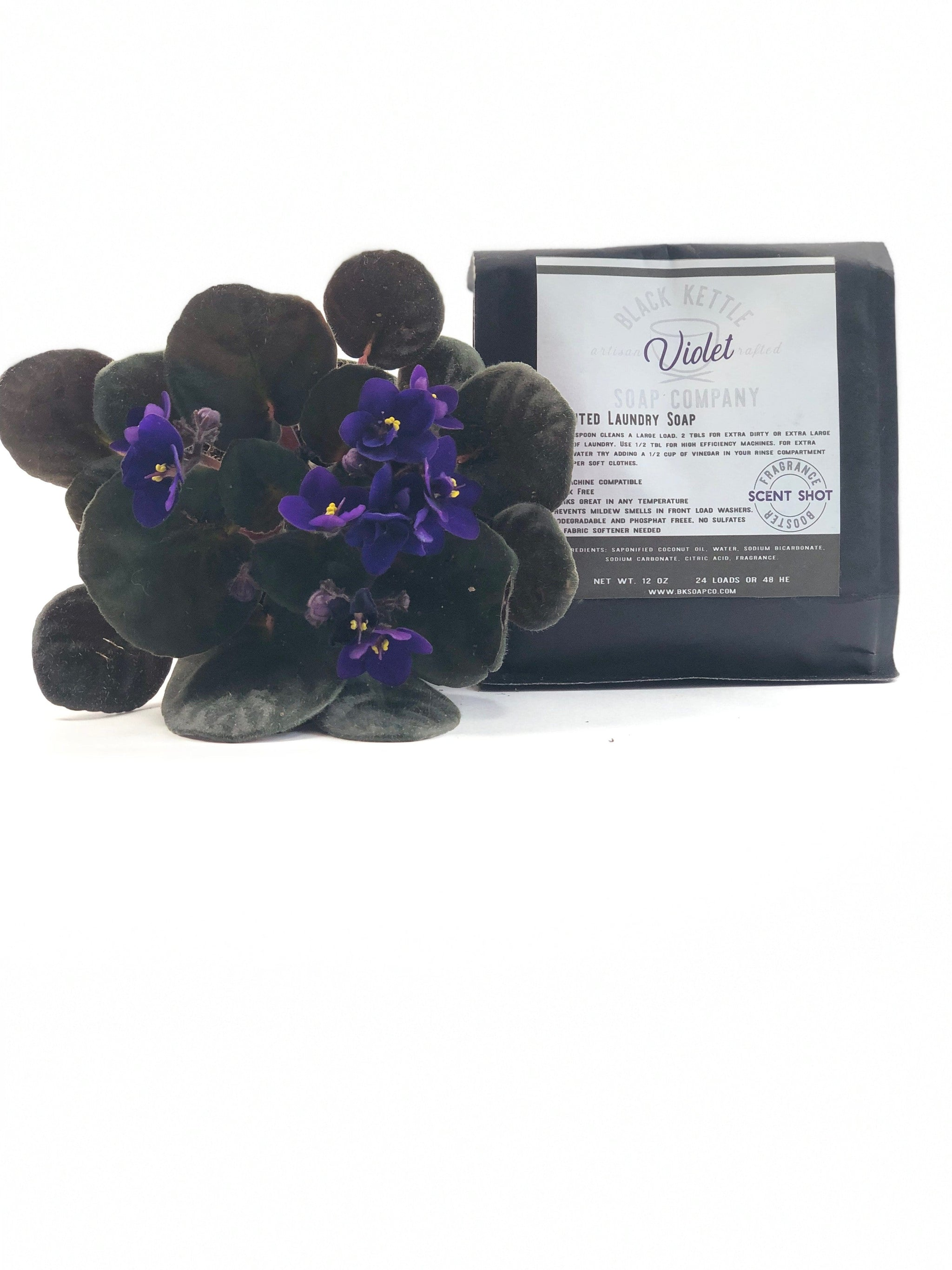 Natural Violet Laundry Soap
