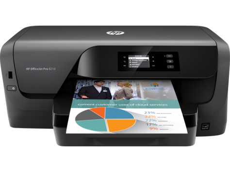 HP OfficeJet Pro 8210 Printer | D9L64A#B1H