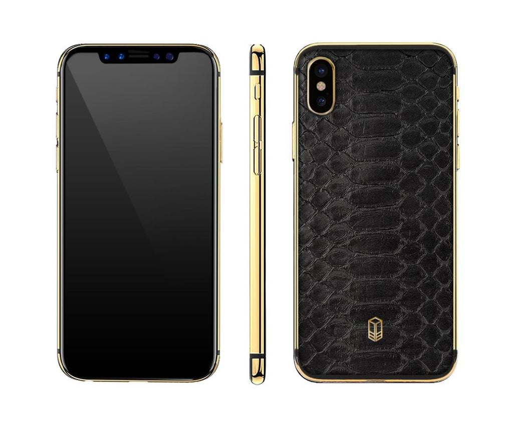 Python Gold iPhone X