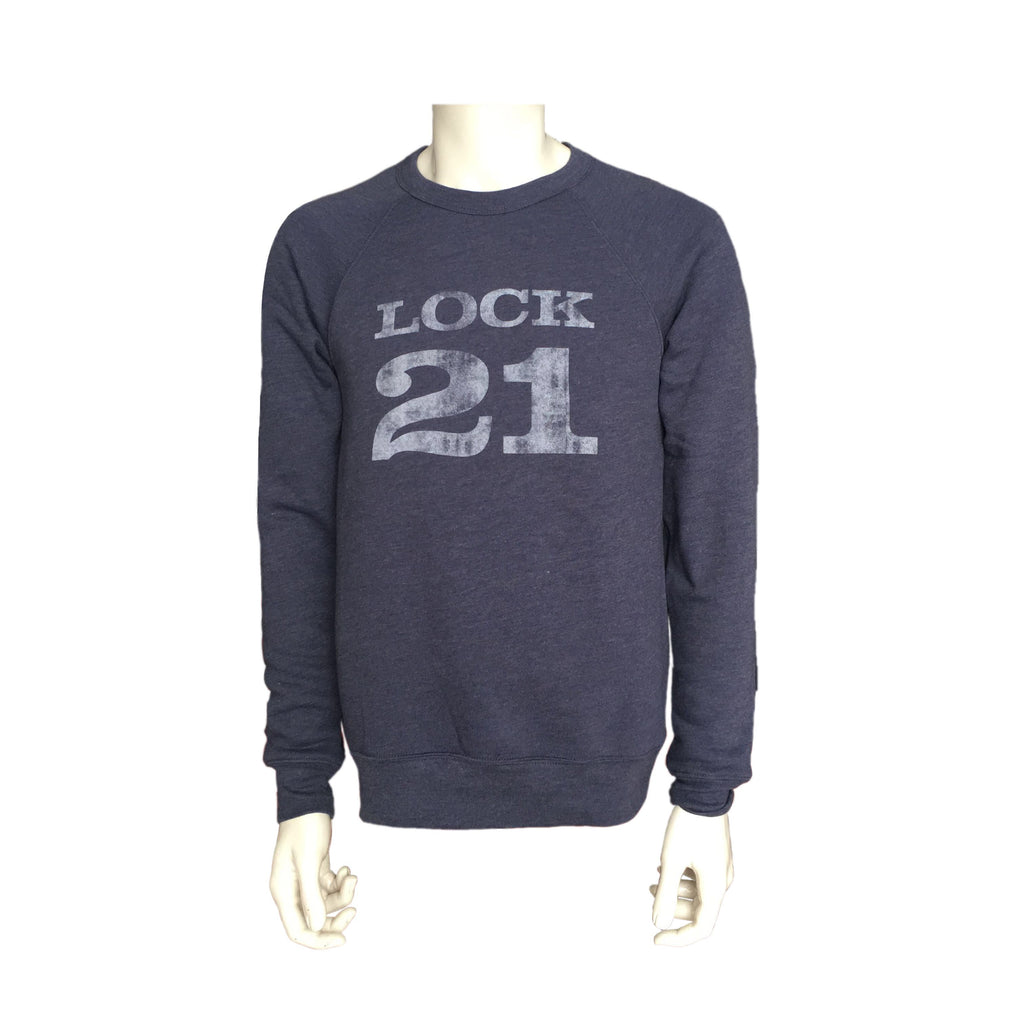 LOCK 21 Vintage Fleece Crew