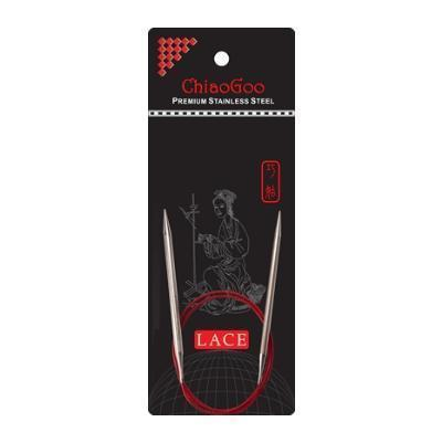 ChiaoGoo - Aiguilles circulaires fixes RED LACE 47'' (120 cm)