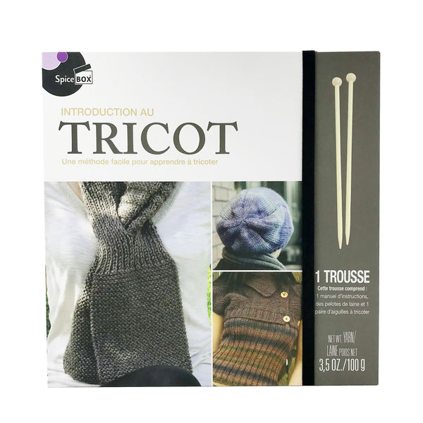 Trousse d'introduction au tricot