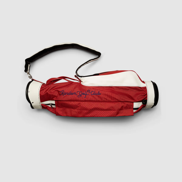 Jones X RGC Carry Golf Bag (Red)