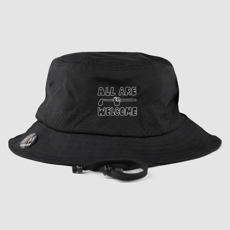 All Are Welcome Bucket Hat (Black) - Pre-order