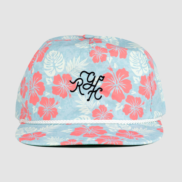 Floral Monogram Rope Hat