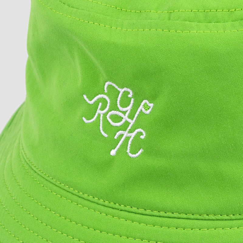 Monogram Bucket Hat (Lime Green)
