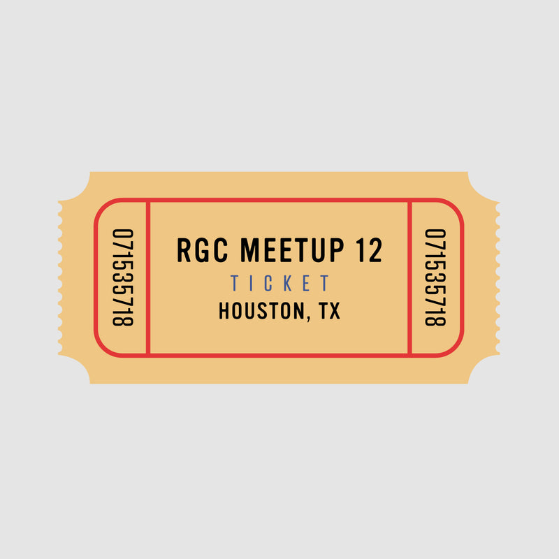 RGC Meetup - Jan. 11th - Houston, Texas - Gus Wortham Park GC - Reservation (Limited to 65)