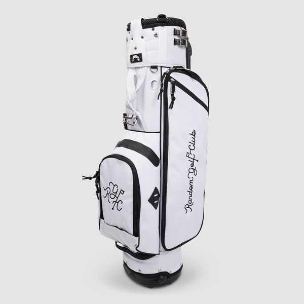 Jones X RGC Varsity Stand Golf Bag (White)