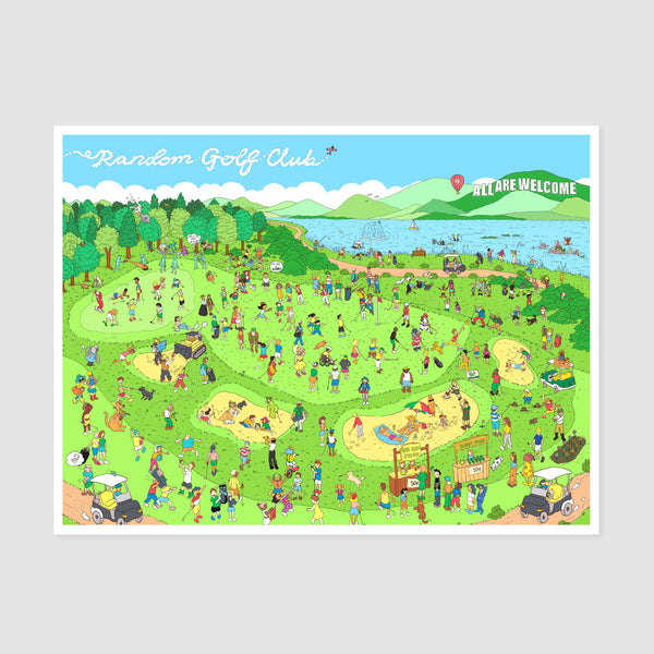 The Definitive RGC Meetup Postcards (10-pack)