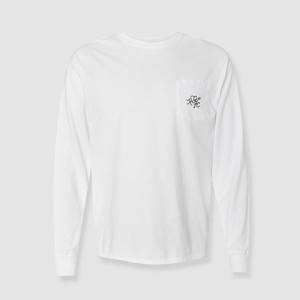 Monogram Pocket Long Sleeve Tee