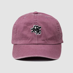 Monogram Dad Hat (Vintage Maroon)