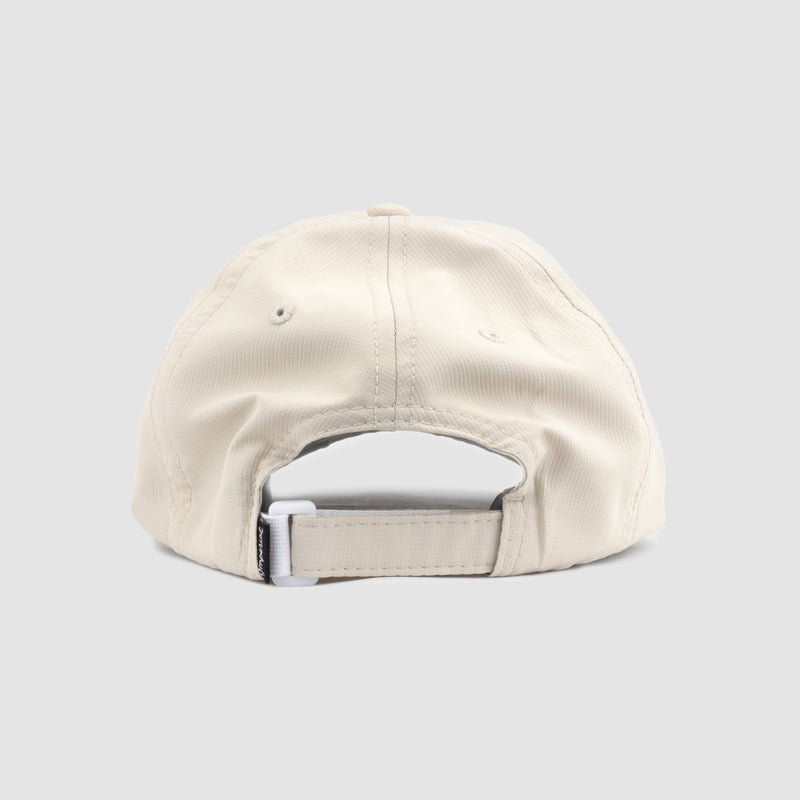 Women's Monogram Performance Dad Hat (Putty/Wine)
