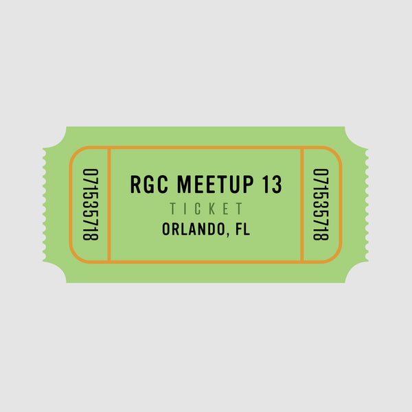 RGC Meetup - Jan. 25th - Orlando, FL - Winter Park GC - Reservation (Limited to 50)