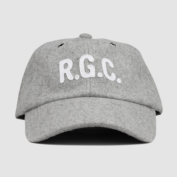 Powercut Wool Dad Hat (Grey)