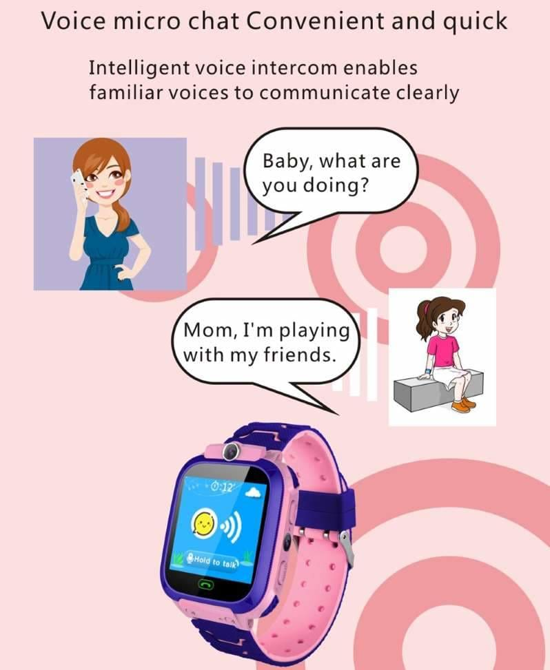 0b0c9cc3f Kids Smart Watch Phone With GPS Tracker For Boys   Girls – Rim and ...
