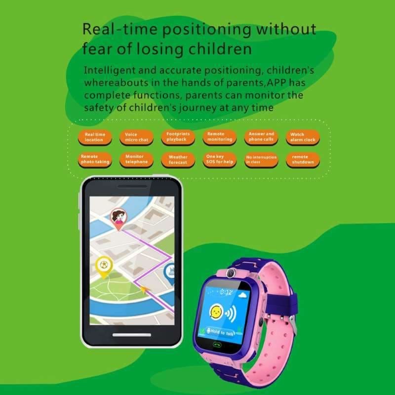 Kids Smart Watch Phone With GPS Tracker For Boys & Girls