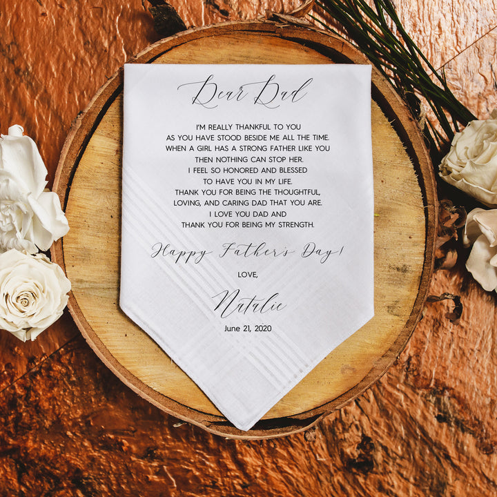 Fathers Day Handkerchief (F1)