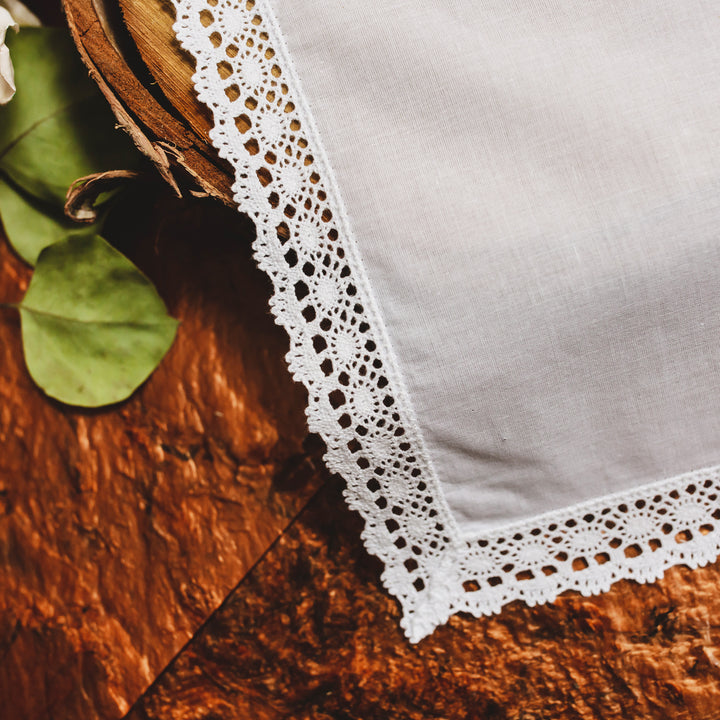 Honeycomb Lace Handkerchief