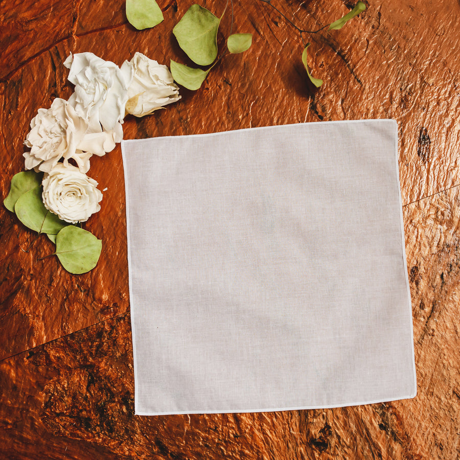 Plain Simple Ladies Handkerchief