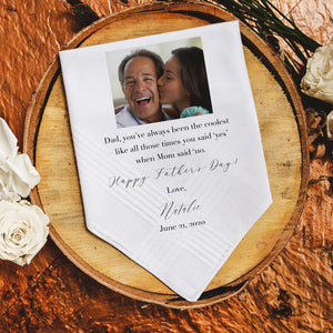 Fathers Day Handkerchief - Funny (PF2)