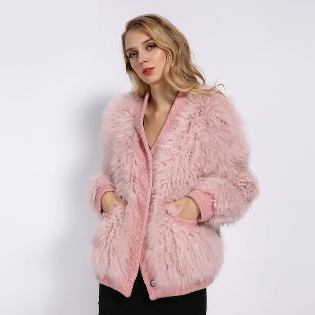 For The Love Of Fuzz Wool Jacket , Jacket- Gilly and Bae