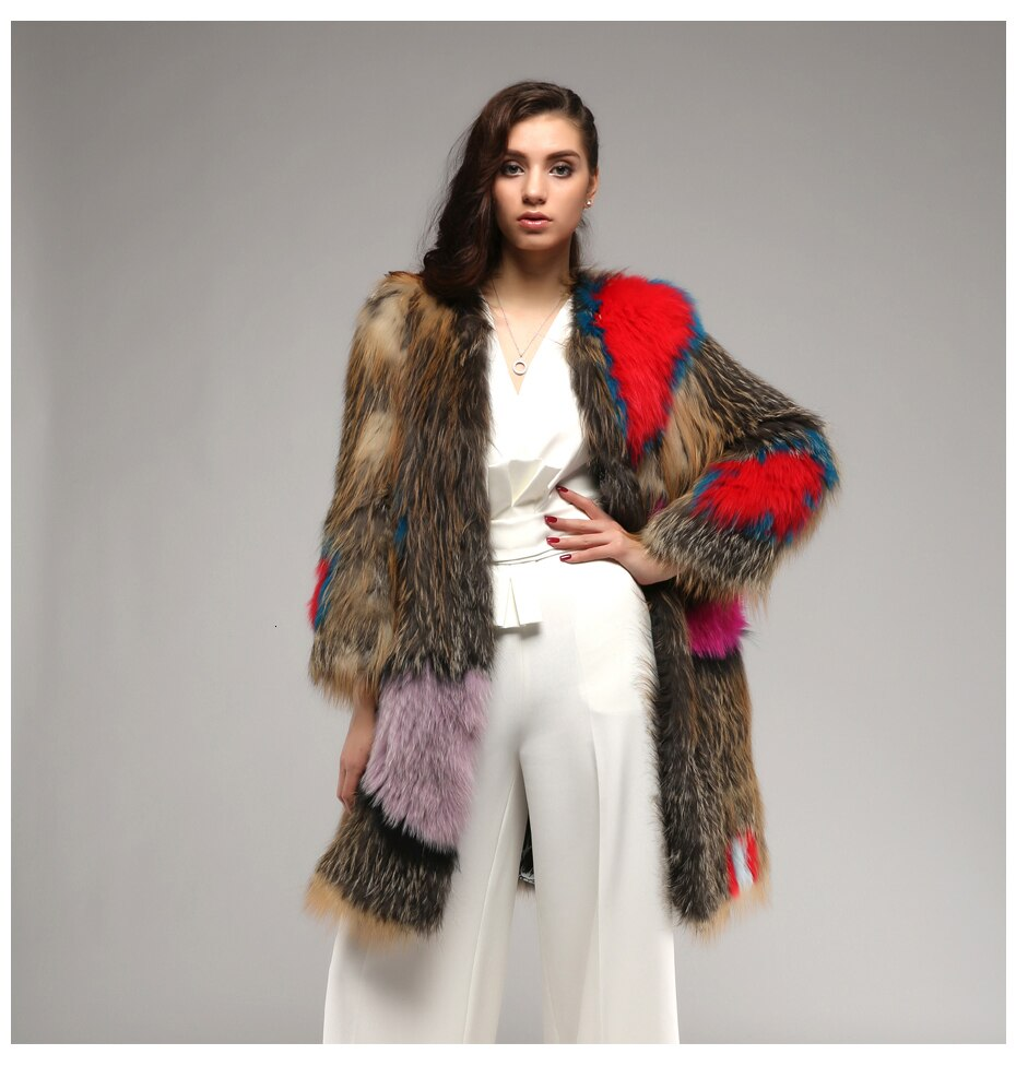 Super Star Real Fur Coat , Jacket- Gilly and Bae