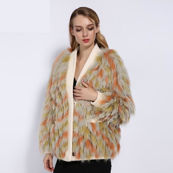 Your Sweetest Fall Real Fur Jacket - Gilly and Bae