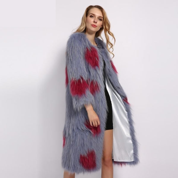 Queen of Heart Real Fur Jacket - Gilly and Bae