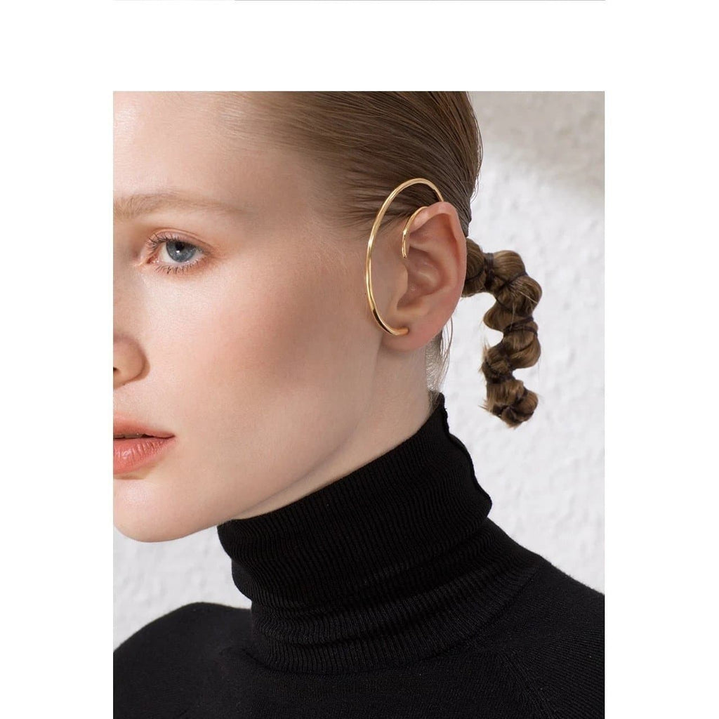 Big Circle Hoop Earrings , jewellery- Gilly and Bae