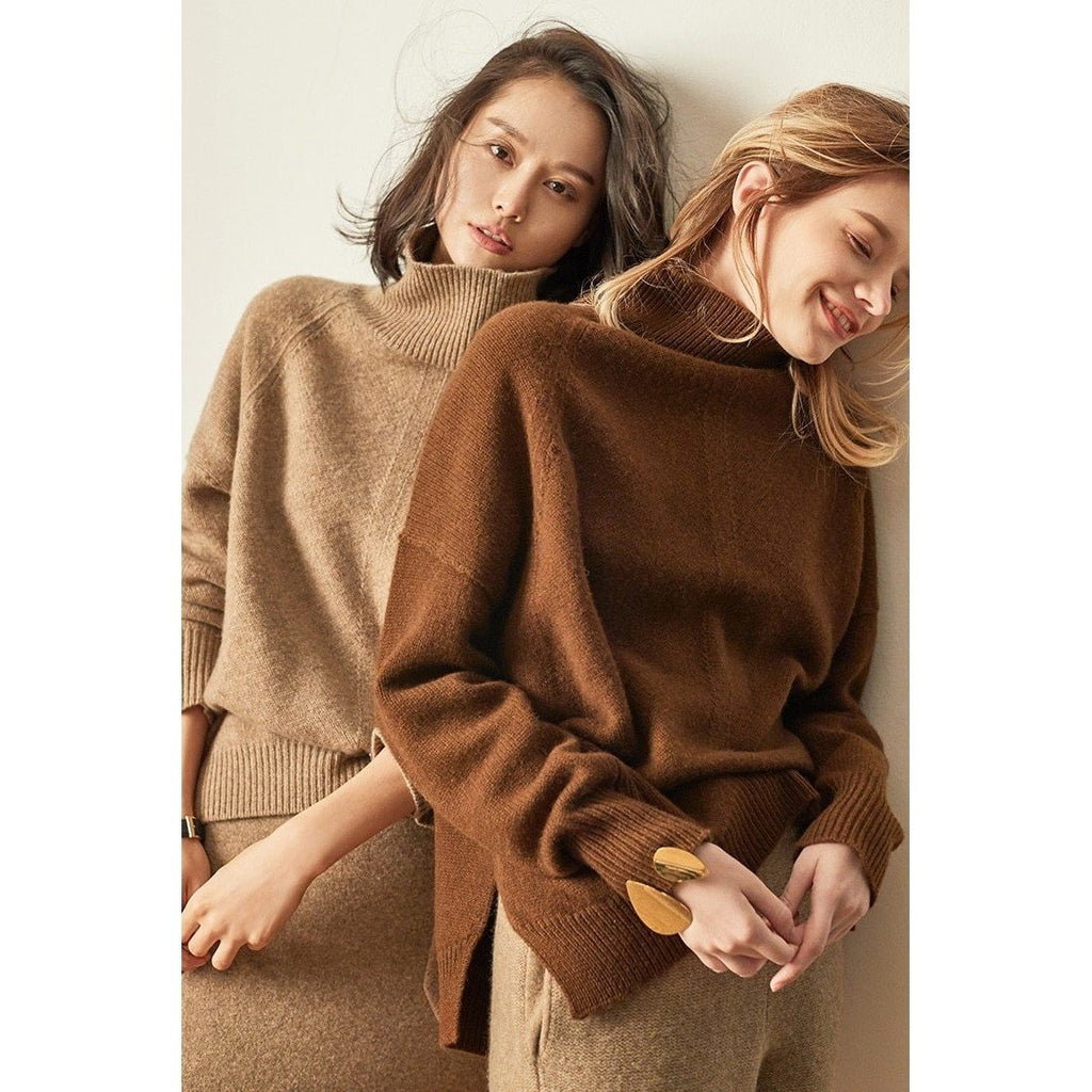 Snuggle up Cashmere Sweater , Top- Gilly and Bae