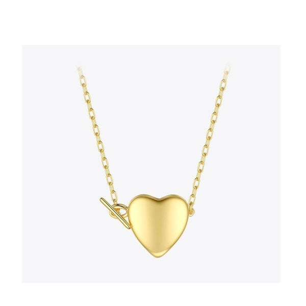 Heart Locket Pendant Necklace - Gilly and Bae